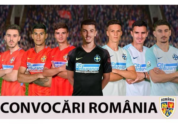 Șapte jucători convocați la loturile naționale!