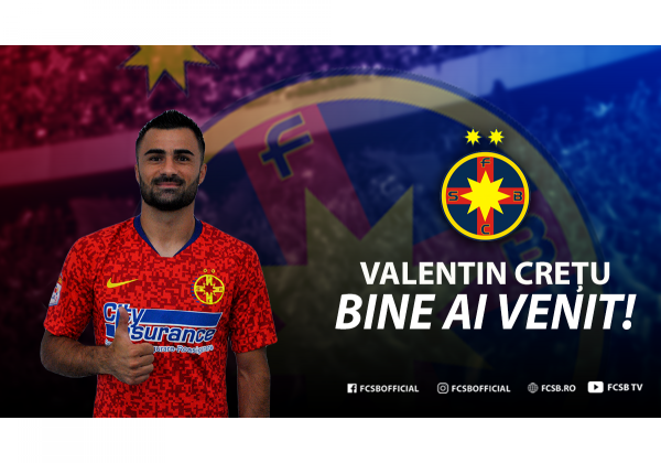 Welcome, Valentin Crețu!