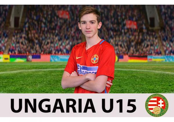 Daniel Csaki, selecționat la Ungaria U15!