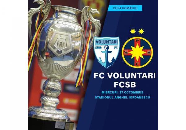 FC Voluntari în optimi!