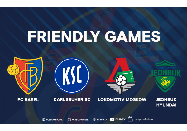 Four friendly games in Spain!