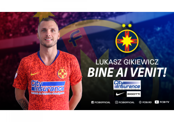 Bine ai venit, Lukasz Gikiewicz!