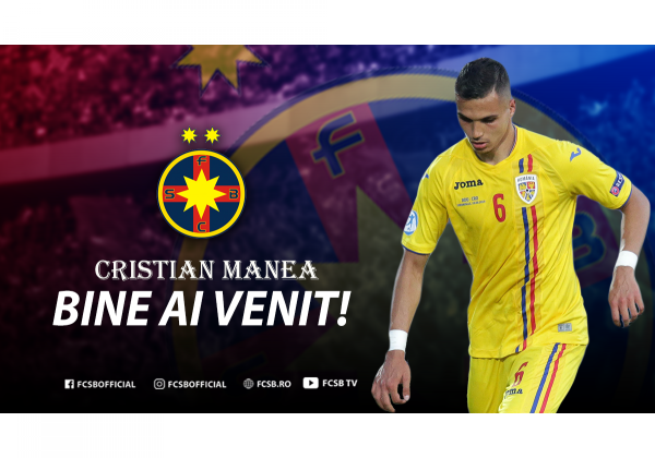 Bine ai venit, Cristian Manea!