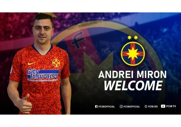 Welcome, Andrei Miron!