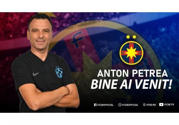 Anton Petrea, noul antrenor al FCSB!