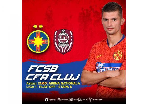FCSB - CFR, amânat!