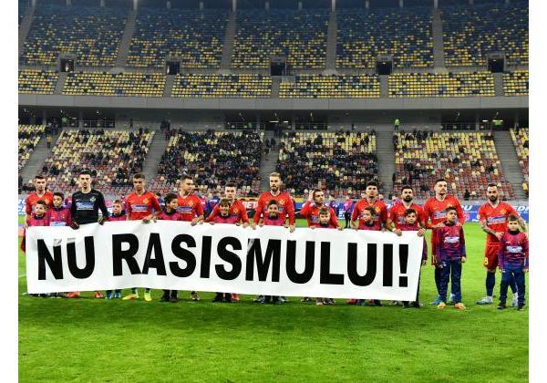 FCSB spune NU rasismului!