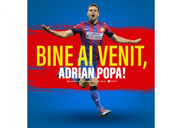Bine ai venit acasă, Adrian Popa!