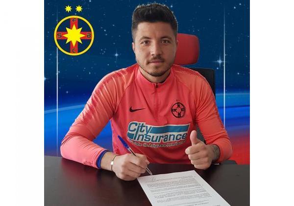 Cristian Bălgrădean, încă un an la FCSB!
