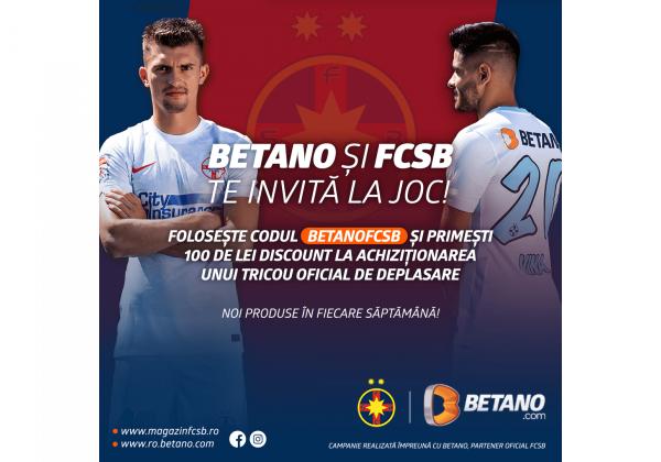 O nouă promoție Betano!