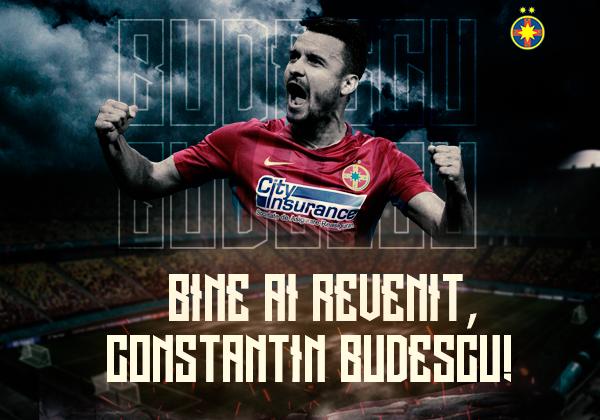 Bine ai revenit, Constantin Budescu!