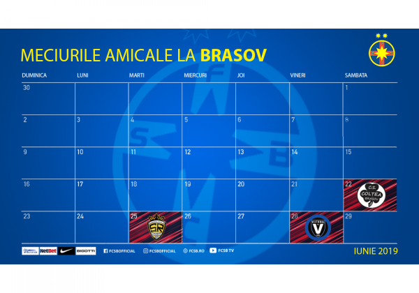 Three friendly games in Brașov!