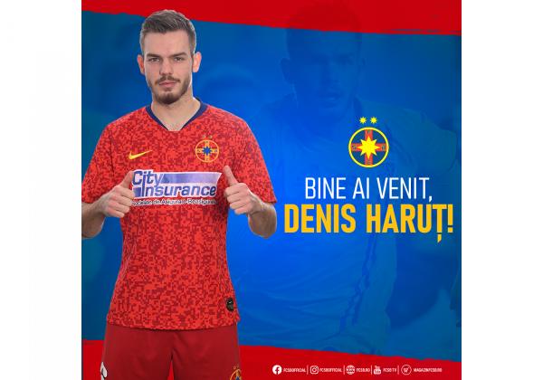 Bine ai venit, Denis Haruț!