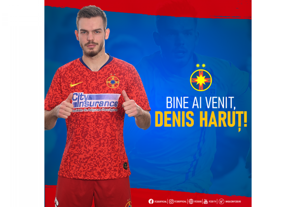 Welcome, Denis Haruț!