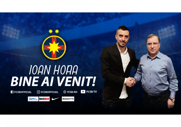 Welcome to FCSB, Ioan Hora!