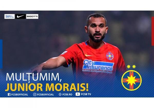 Mulțumim, Junior Morais!