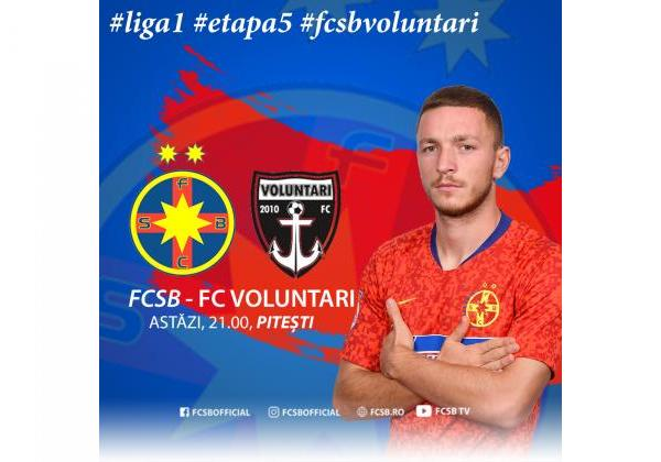 Avancronică FCSB - FC Voluntari!