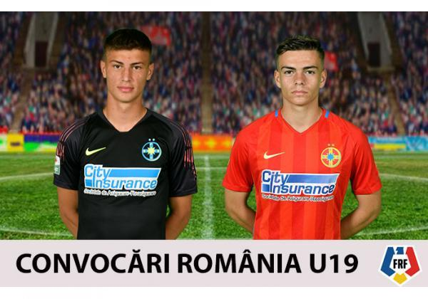 Ducan și Dumitru, în lotul României U19!