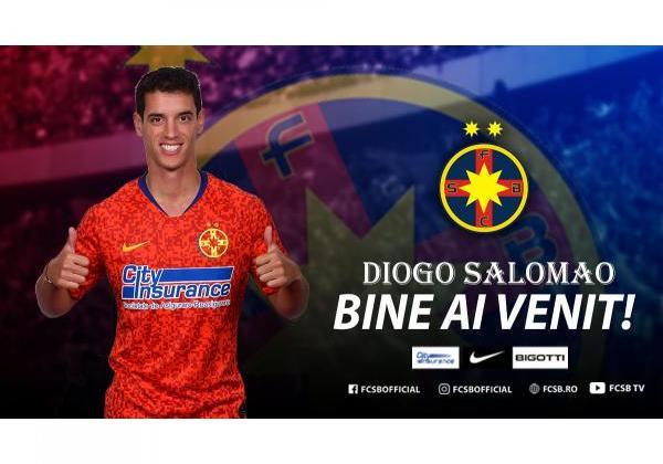 Bine ai venit, Diogo Salomao!