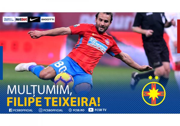 Mulțumim, Filipe Teixeira!