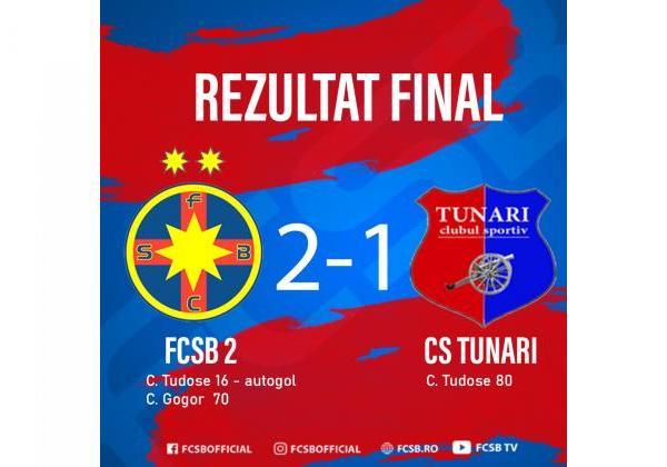 O nouă victorie în Liga a 3-a!