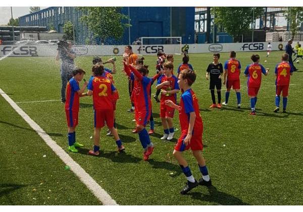FCSB U11, campioana Bucureștiului!
