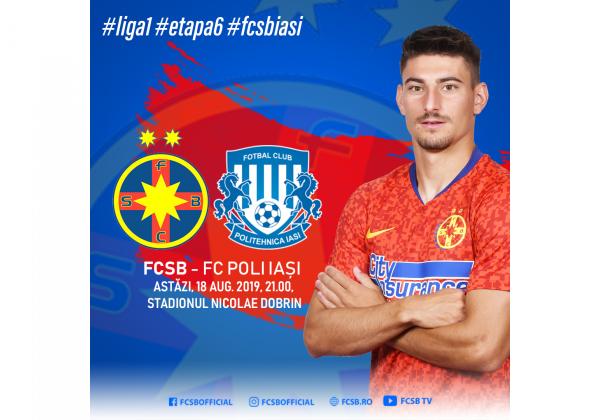 Avancronică FCSB - FC Poli Iași!