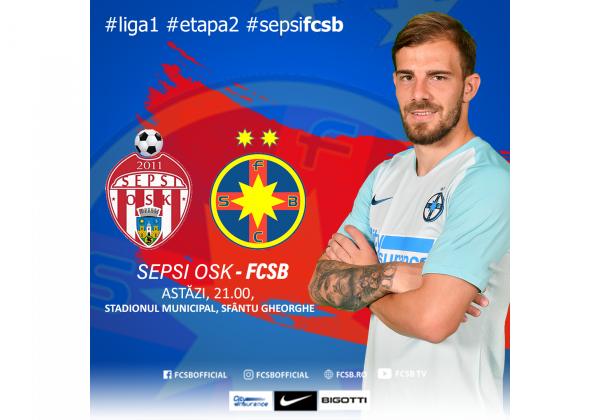 Avancronică Sepsi OSK - FCSB!