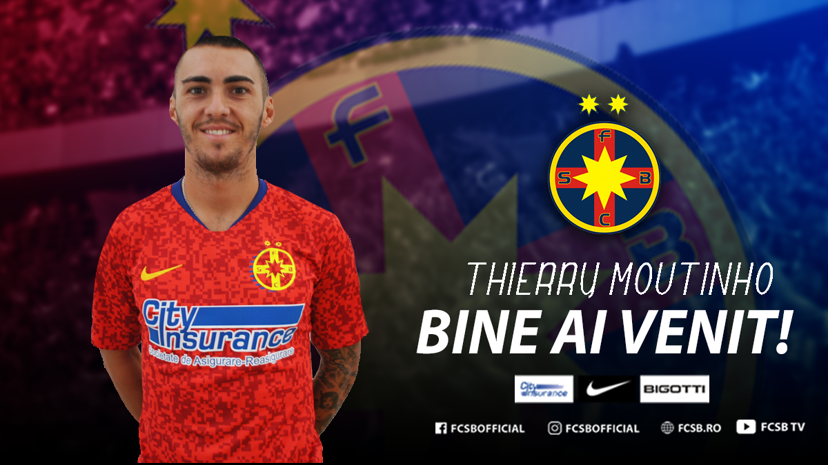 Welcome, Thierry Moutinho!