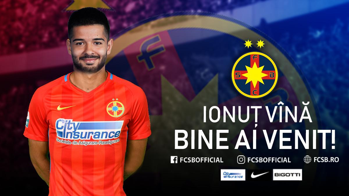 Welcome, Ionuț Vînă!