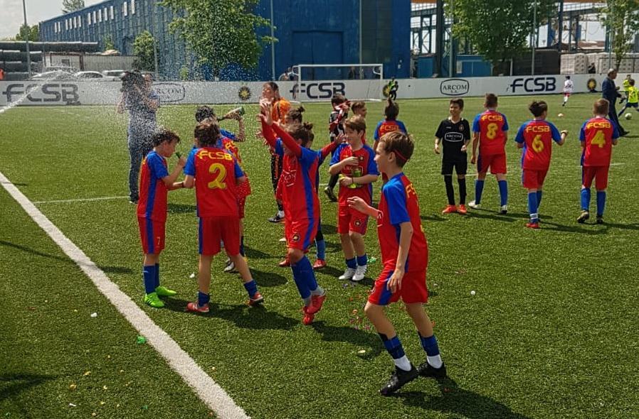 FCSB U11, campioana Bucureștiului!>