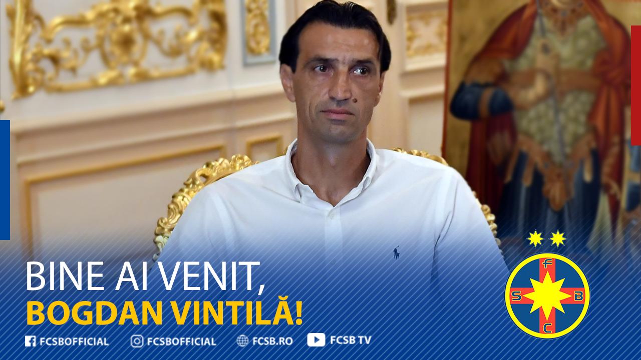 Bogdan Vintilă, noul antrenor al FCSB!>
