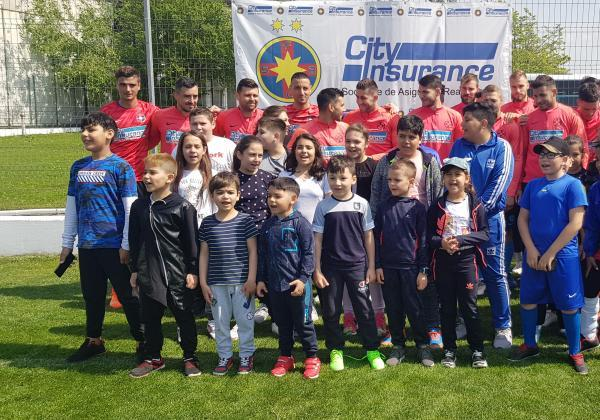 "The kids from ""Casa Speranței"" visited our training centre!"