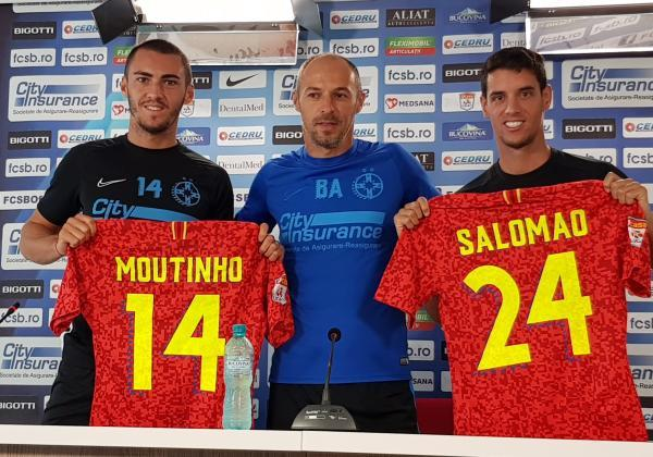 Press conference with Thierry Moutinho and Diogo Salomao!