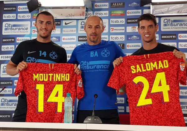 Conferință de presă cu Thierry Moutinho și Diogo Salomao!
