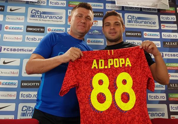Press conference with Adrian Popa!