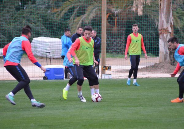First training session in Marbella!
