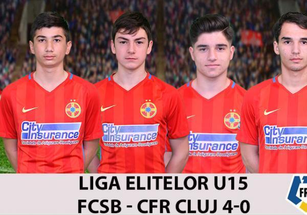 FCSB - CFR CLUJ 4-0
