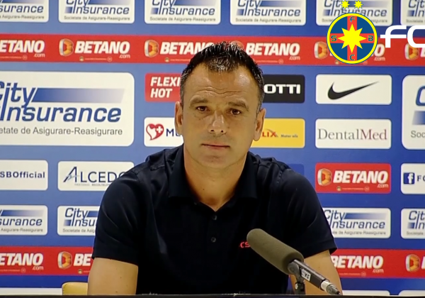 Press conference after FCSB-Shirak!