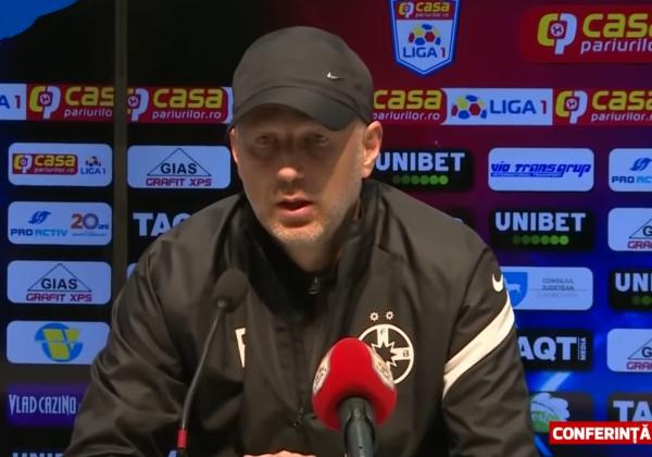 Edward Iordănescu după Chindia-FCSB!
