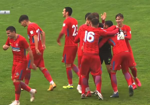 FC VOLUNTARI 2 - FCSB 2 1-4