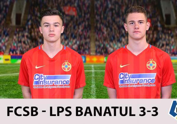 FCSB - LPS BANATUL 3-3