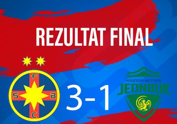 FCSB - JEONBUK FC 3-1