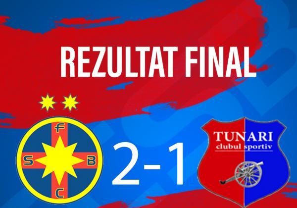 FCSB 2 - CS TUNARI 2-1